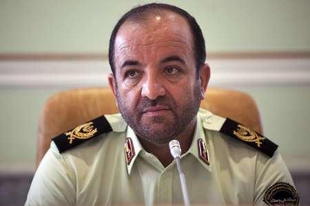 قائد شرطة محافظة كرمانشاه يعلن تفكيك عصابة تكفيرية ارهابية