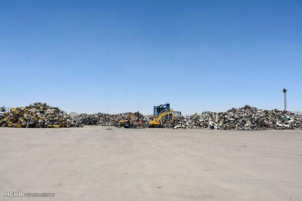 مرکز بازیافت زباله «آرادکوه» یکی از معضلات ترافیکی کهریزک است