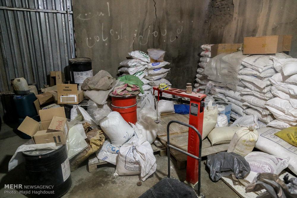 آغاز طرح برخورد با متخلفان فروش موادشیمیایی قاچاق