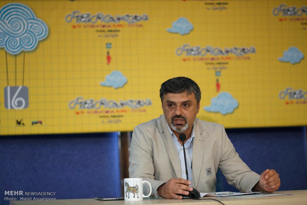 نشست جشنواره عروسکی تهران مبارک