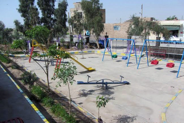 پارک کودک و زمین ورزشی شهرک پیامبراعظم(ص) افتتاح شد