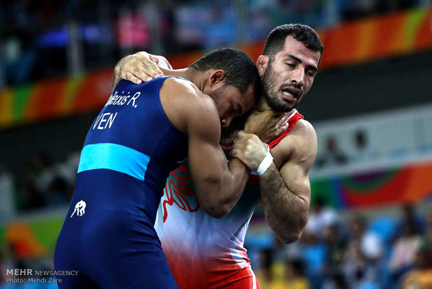 Rio 2016 Greco-Roman matches in frames