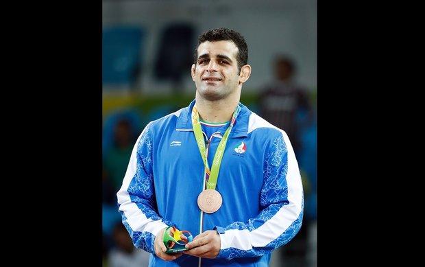 Iran's Greco-Roman wrestler Rezaei wins bronze at Olympics