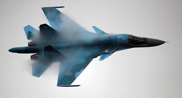 Russian Su-34 jets deployed in Iran conduct airstrikes against ISIL in Syria