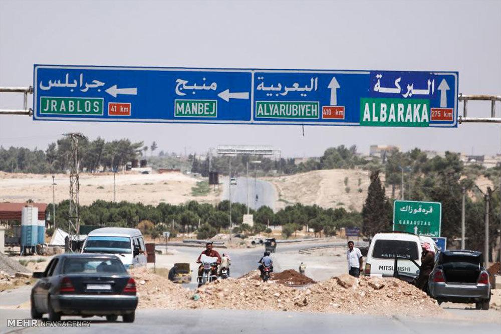 شهر منبج پس از خروج داعش
