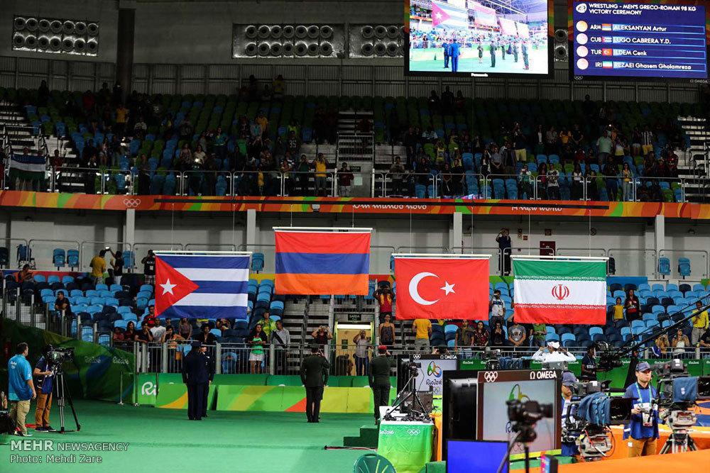 مسابقات کشتی فرنگی المپیک 2016ریو