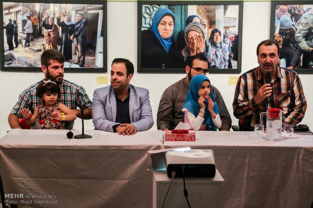 افتتاح نمایشگاه عکس به نام زیتون