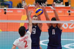 دیدار تیم های ملی والیبال ایران و ایتالیا