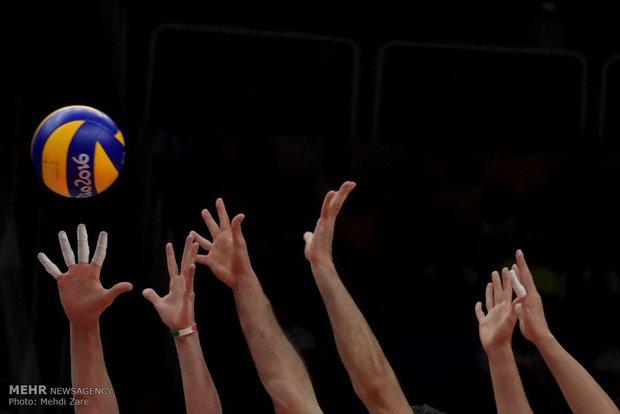 دیدار تیم های والیبال ایران و ایتالیا