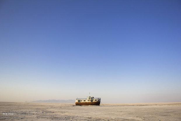 بی کاری ملوانها بر اثر خشک شدن دریاچه ارومیه