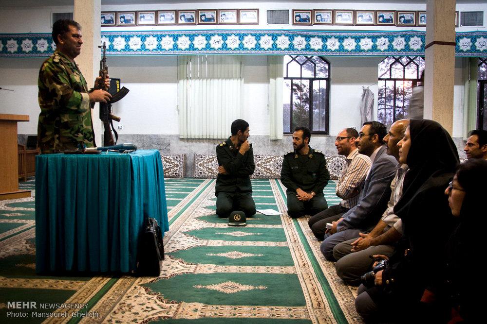 نشست مطبوعاتی فرمانده سپاه شاهرود