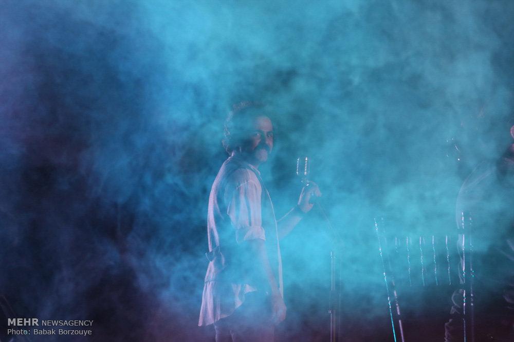 کنسرت گروه پالت