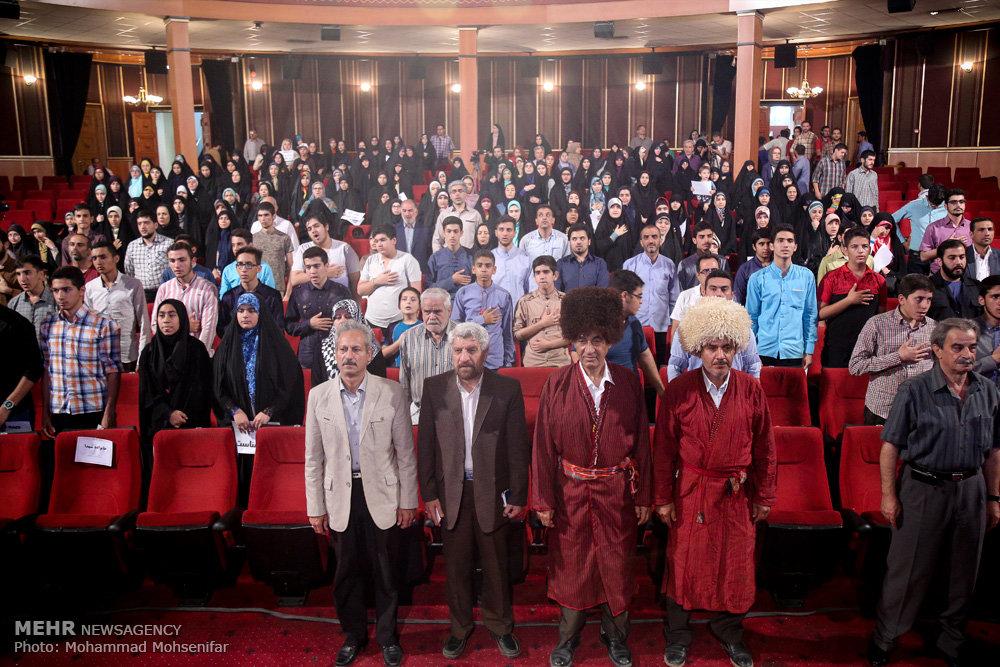 اختتامیه جشنواره ضد استکباری طبس