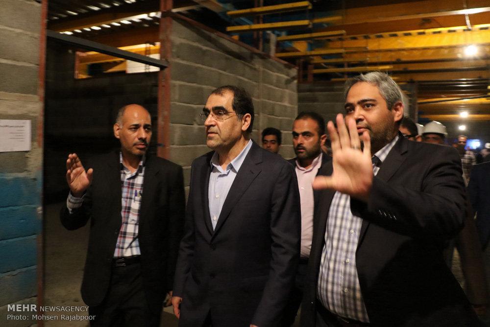 سفر وزیر بهداشت به استان کرمان