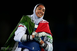 Kimia Alizadeh to bear flag at 2017 World Taekwondo Champ.