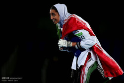 رياضية ايرانية تحصل على ميدالية فی الاولمبیاد