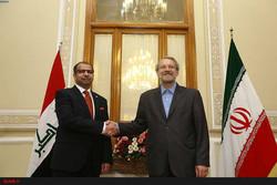 Iraqi speaker felicitates Larijani on reelection as Parl. speaker
