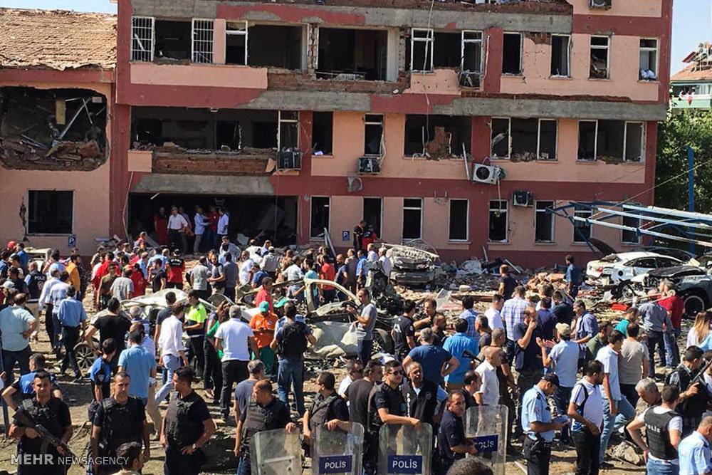 انفجار تروریستی در شرق ترکیه