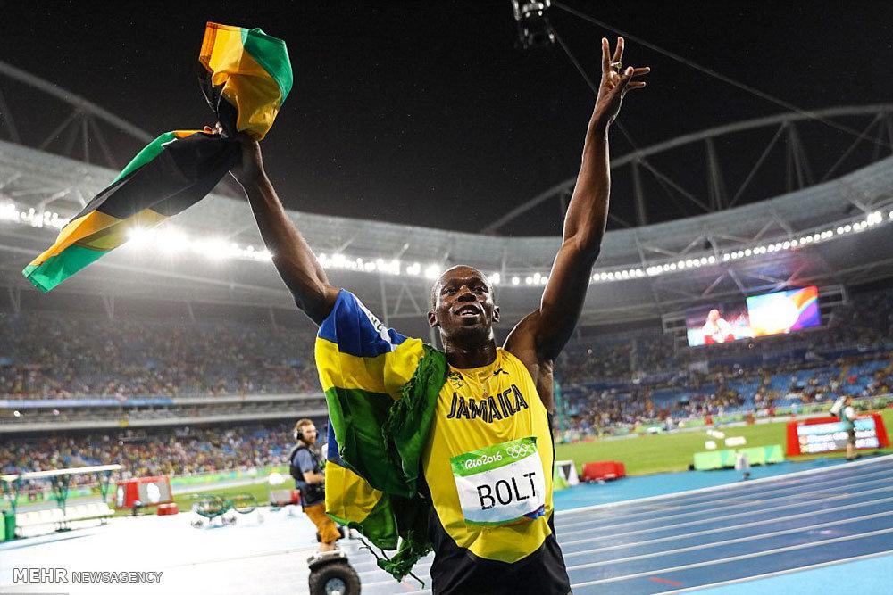 هشتمین طلای یوسین بولت در المپیک