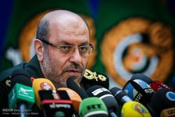 نشست خبری وزیر دفاع و پشتیبانی نیروهای مسلح