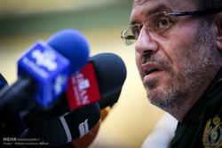وزير الدفاع الايراني: لايمكن تفويض أمن المنطقة للآخرين
