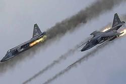 حمله هوایی روسها به مواضع داعش در حومه دیرالزور