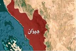 القوة الصاروخية اليمنية تقصف مدينة جيزان الاقتصادية السعودية بصاروخ بدر1 الباليستي