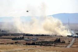 ۷۰ حمله هوایی به مواضع تروریستها/انفجار در شمال الرقه