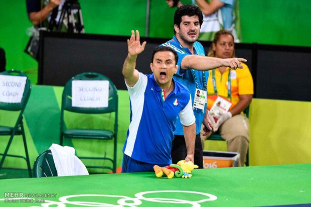 رسول خادم و علیاکبر دودانگه در مسابقات کشتی آزاد المپیک ریو 2016