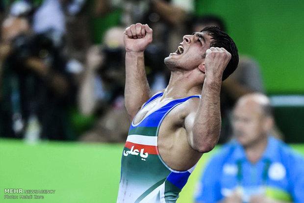 حسن یزدانی در مسابقات کشتی آزاد المپیک ریو 2016
