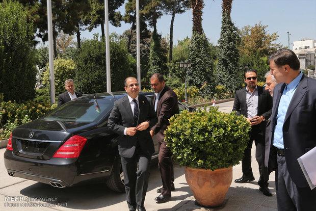 دیدار روسای مجالس ایران و عراق