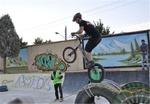 دوچرخهسوار همدانی در مسابقات تریال کشور قهرمان شد