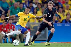 برزیل طلسم جام نبردن را شکست/ قهرمانی با ضربه نیمار