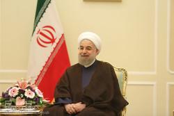 President Rouhani meets al-Jabouri