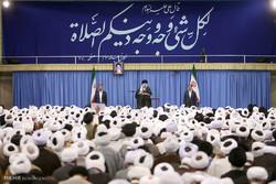 دیدار ائمه جماعات مساجد استان تهران با رهبر معظم انقلاب