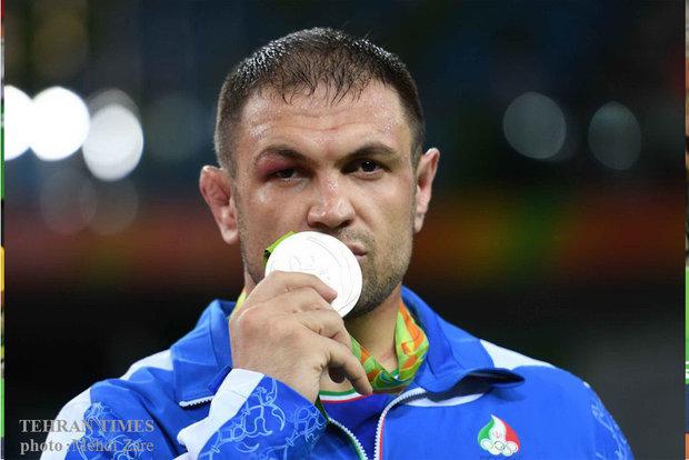 Rio Olympics 2016: Iran's Ghasemi wins silver