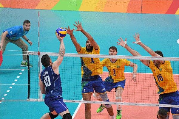 Image result for برزیل طلای والیبال المپیک ریو2016