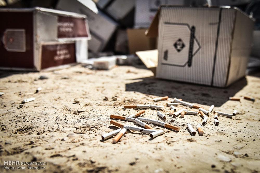 امحای بیش از 33 میلیون نخ سیگار قاچاق در شیراز