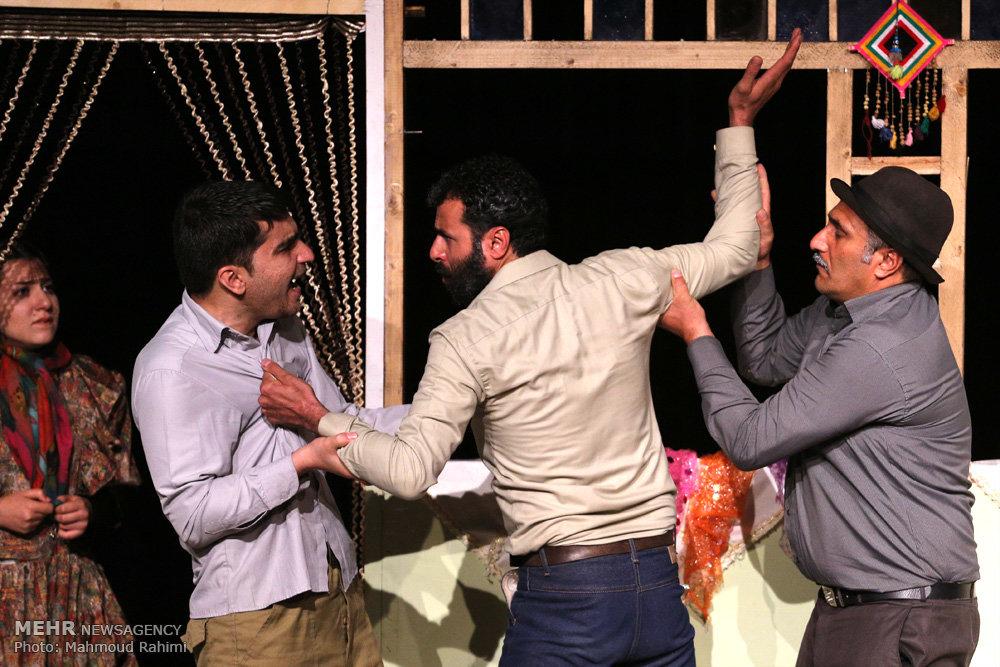افتتاحیه دومین مهرواره تئاتر ماه
