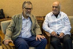 نادر طالبزاده با فیلمساز ضد کودتای شیلی دیدار کرد