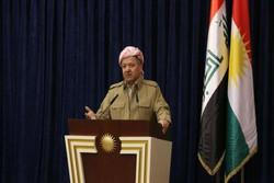 بارزانی: با بغداد مذاکره می کنیم اما پس از برگزاری همهپرسی!