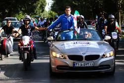 استقبال مردمی از سهراب مرادی دارنده مدال طلا مسابقات المپیک