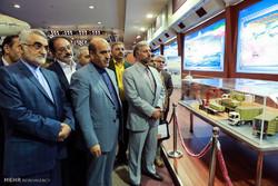 بازدید اعضای کمیسیون امنیت ملی مجلس از نمایشگاه توانمندیهای وزارت دفاع
