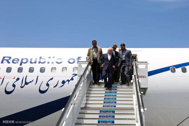 ورود محمد جواد ظریف وزیر امور خارجه به هاوانا