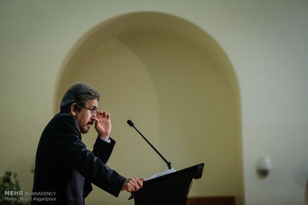 المؤتمر الصحفي للمتحدث باسم الوزارة الخارجية الايرانية