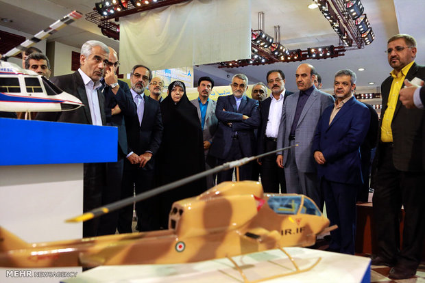 NSFPC visits Defense Ministry exhibition