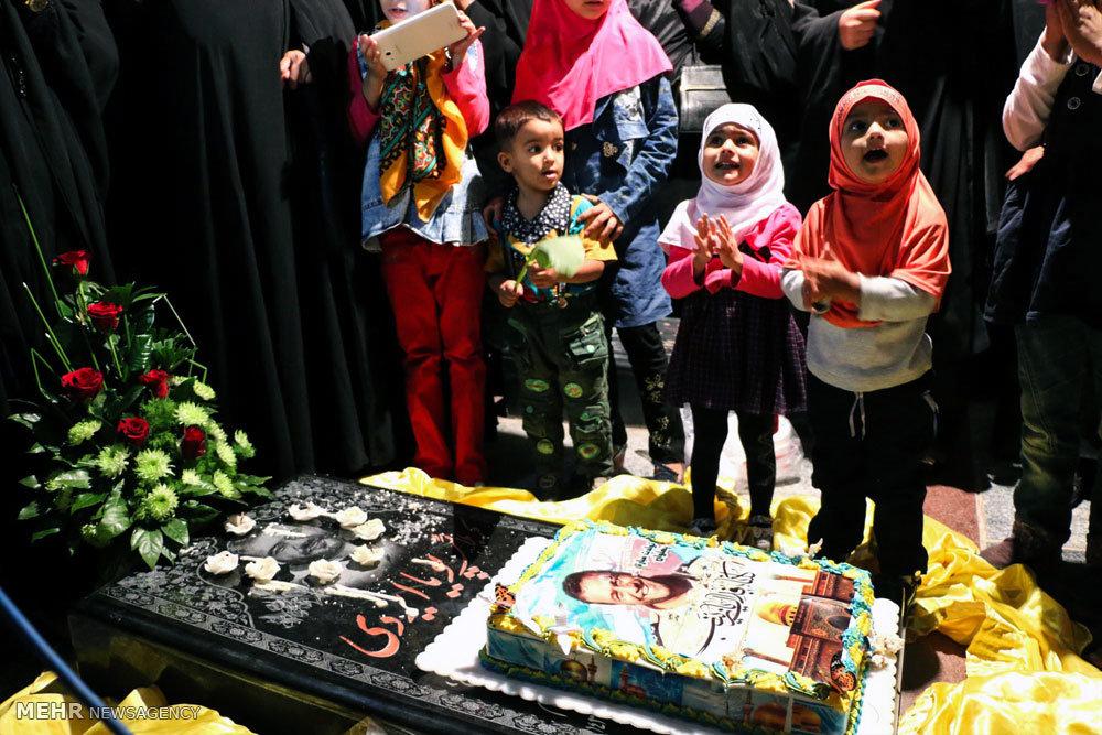 جشن تولد شهید پویا ایزدی