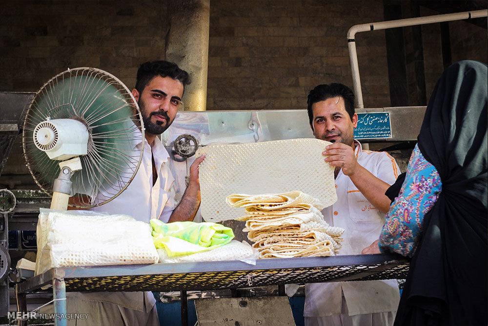 اقدام زیبا و خیرخواهانه یک نانوایی در گرگان