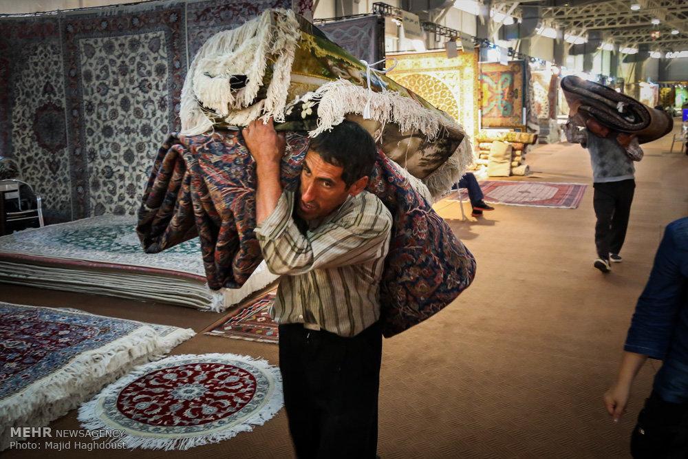 افتتاح بیست و پنجمین نمایشگاه فرش دستباف ایران