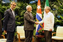 مشاهد من لقاء وزير الخارجية برئيس جمهورية كوبا